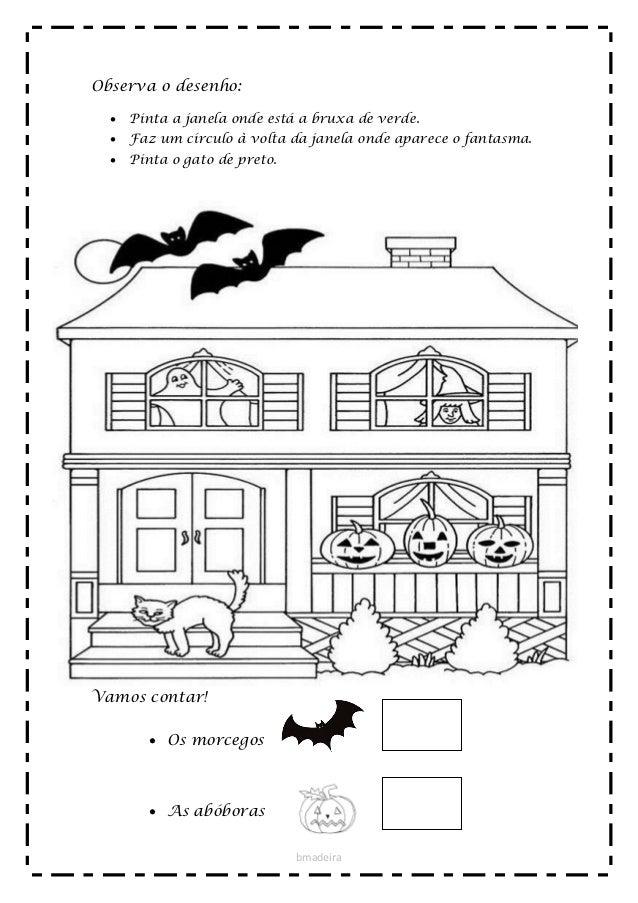 Fichas De Atividades Para O Hallowen