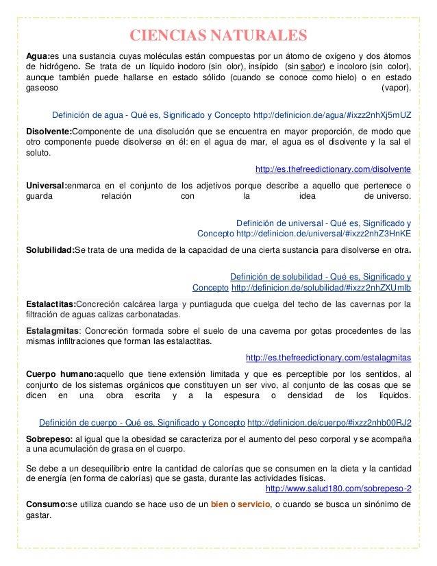 Fichas de contenido for Inodoro significado