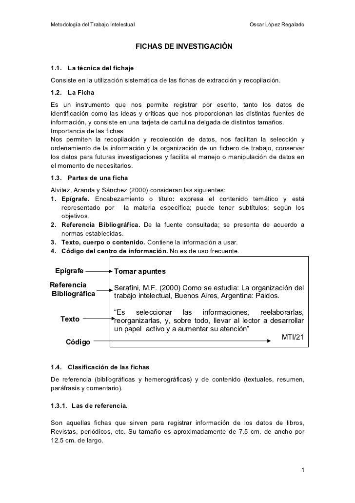Fichas de investigaci n estilo apa for Resumen del libro quimica en la cocina