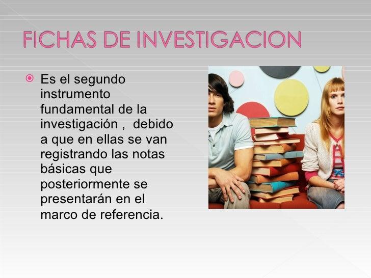 <ul><li>Es el segundo instrumento fundamental de la investigación ,  debido a que en ellas se van registrando las notas bá...