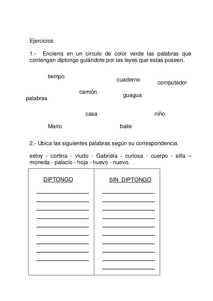 Fichas didácticas 1 ortografia acentual