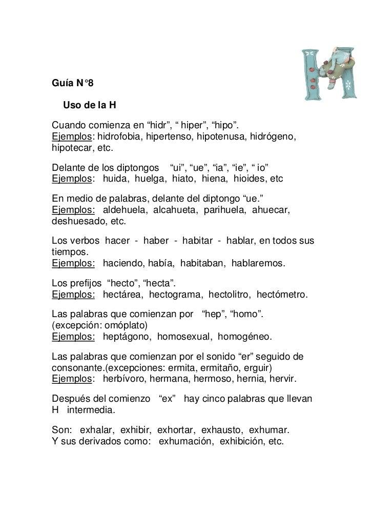 Fichas didácticas 3 ortografia literal