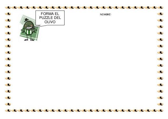 Fichas infantil el olivo
