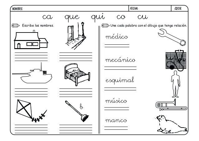 Fichas Lectoescritura Completa