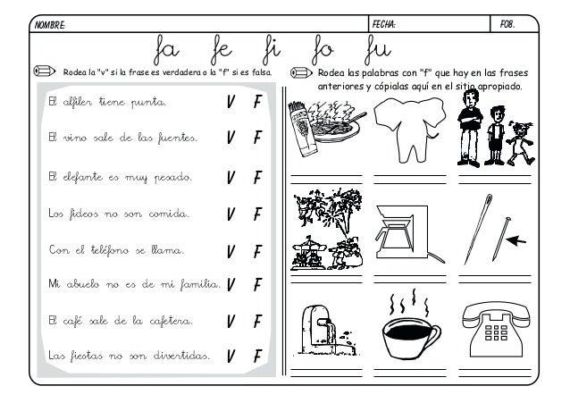 Único Letra F Hojas De Trabajo Ilustración - hojas de trabajo ...