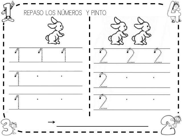 Fichas Números 1-6