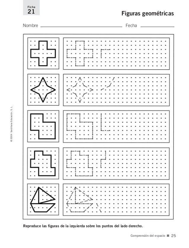 Fichas para el desarrollo de la inteligencia 2 - Cenefas para dibujar ...
