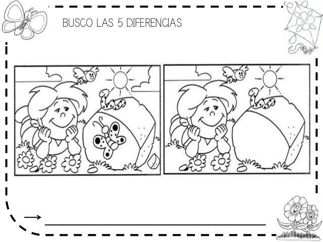 BUSCO LAS 5 DIFERENCIAS