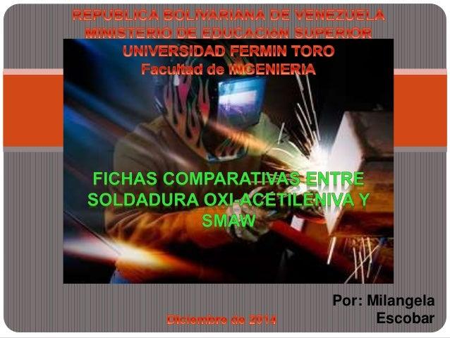 Por: Milangela  Escobar