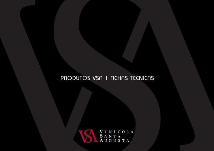 PRODUTOS VSA | FICHAS TÉCNICAS