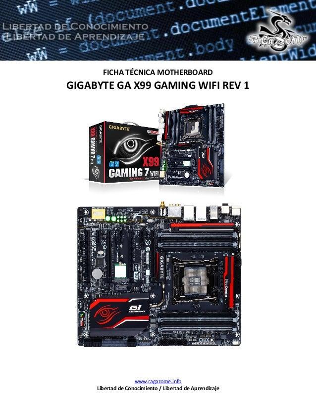 Gigabyte GA-X99-Gaming 7 WIFI BigFoot LAN Windows 8 Driver Download