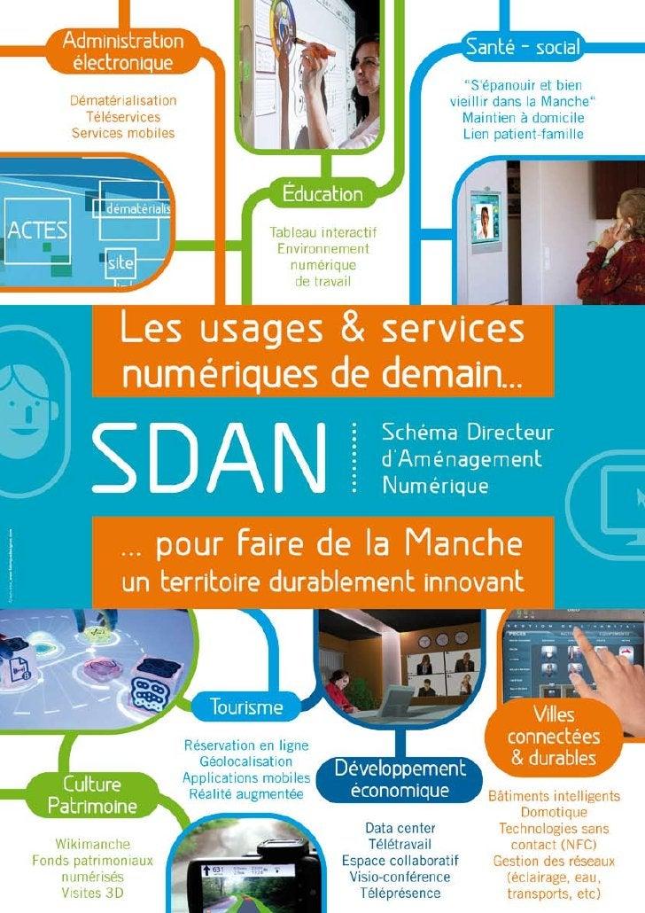 Fiche SDAN (schéma directeur d'aménagement numérique)
