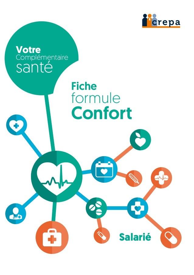 Votre Complémentaire santé Fiche formule Confort Salarié