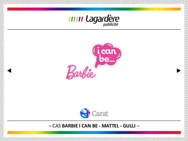 – CAS BARBIE I CAN BE - MATTEL - GULLI –