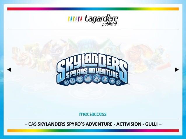 – CAS SKYLANDERS SPYRO'S ADVENTURE - ACTIVISION - GULLI –