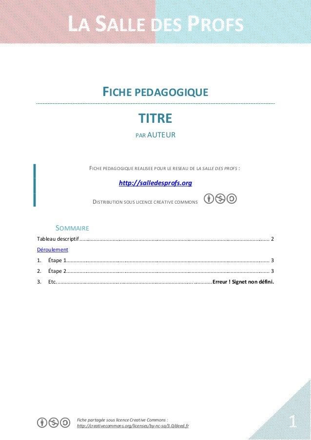 LA SALLE DES PROFS FICHE PEDAGOGIQUE TITRE PAR AUTEUR  FICHE PEDAGOGIQUE REALISEE POUR LE RESEAU DE LA SALLE DES PROFS :  ...