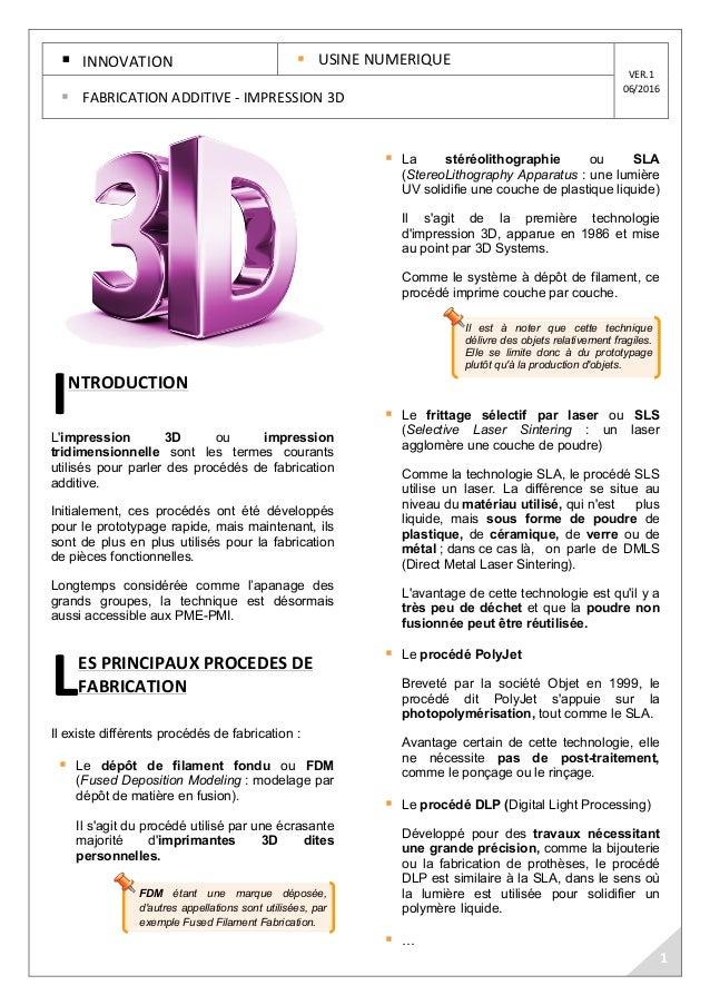 FDM étant une marque déposée, d'autres appellations sont utilisées, par exemple Fused Filament Fabrication. Il est à noter...