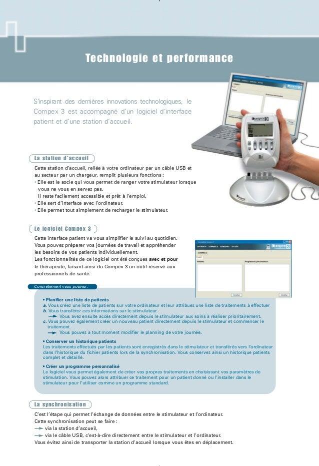 Technologie et performance Concrètement vous pouvez : • Planifier une liste de patients a. Vous créez une liste de patient...