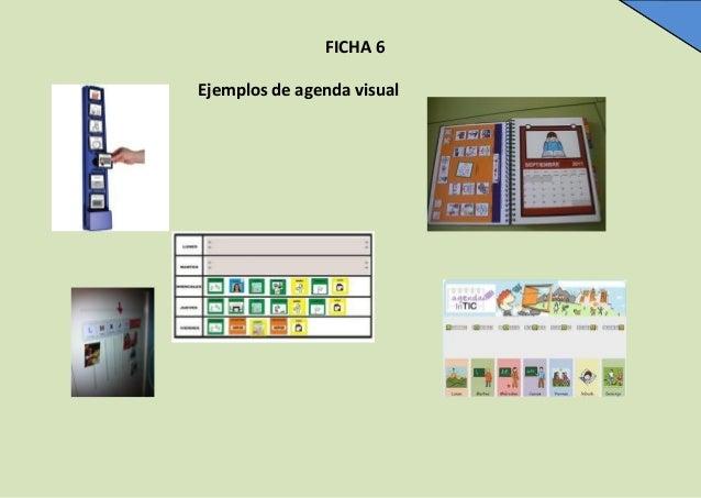 FICHA 6 Ejemplos de agenda visual