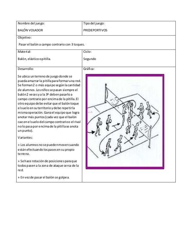Fichero De Juegos Educación Física Para Imprimir 25