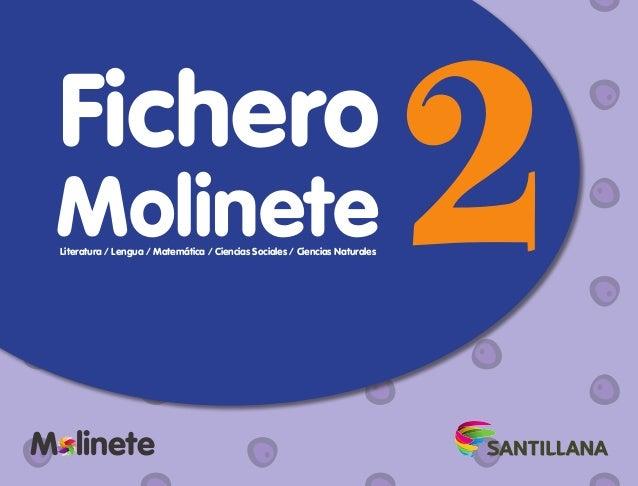 Fichero M lineteM l 2MolineteLiteratura / Lengua / Matemática / Ciencias Sociales / Ciencias Naturales