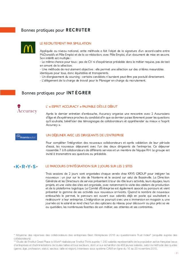 fiches bonnes pratiques great place to work u00ae 2016