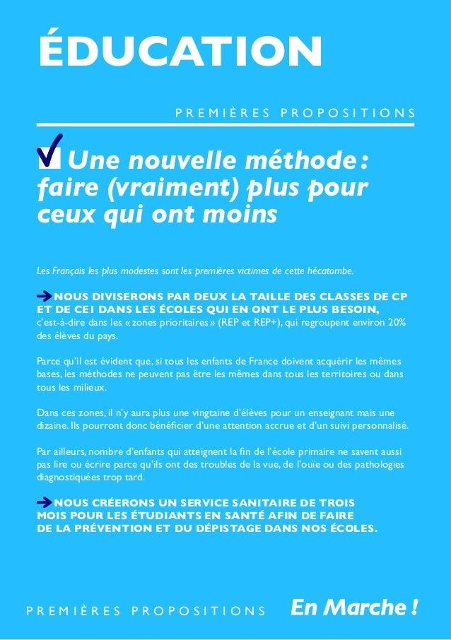 ÉDUCATION Une nouvelle méthode: faire (vraiment) plus pour ceux qui ont moins Les Français les plus modestes sont les prem...