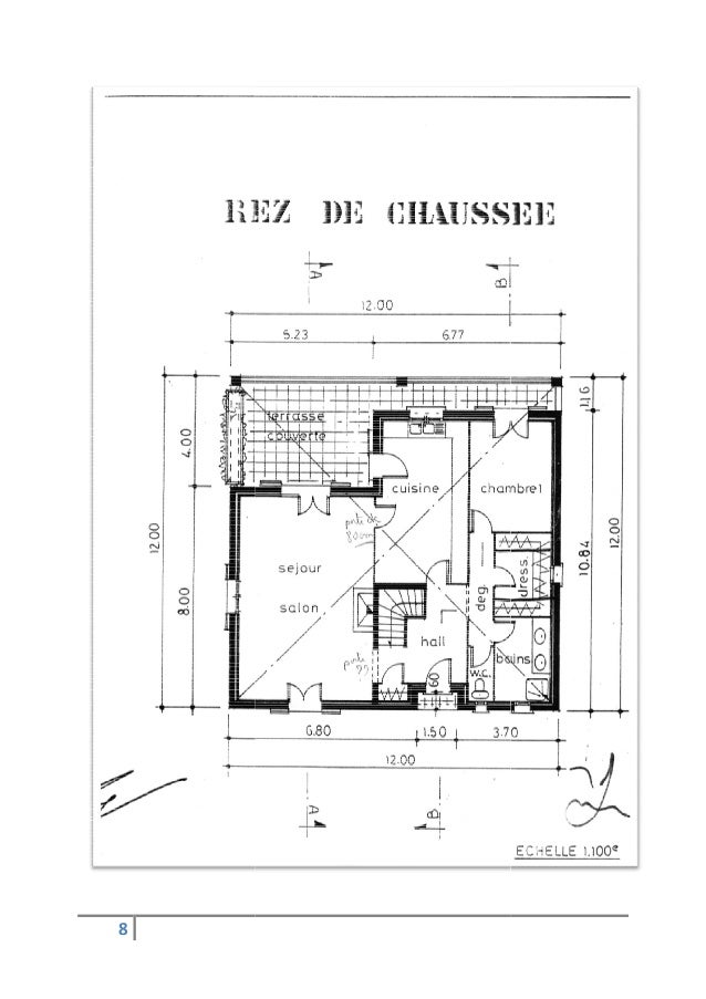 Plan Maison 7*8