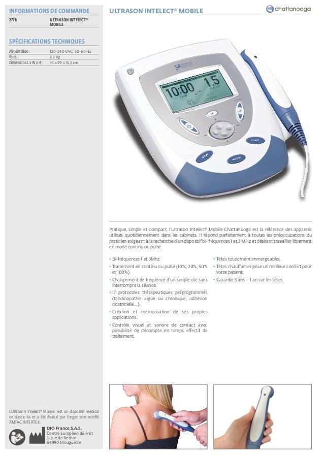 fiche ultrason intelect u00ab mobile