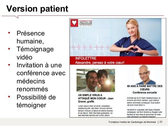 Nouveaux contacts = donateurs potentiels  Fondation Institut de Cardiologie de Montréal    25  Acquisition