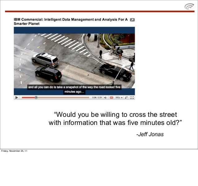 """""""Would you be willing to cross the street                          with information that was five minutes old?""""           ..."""