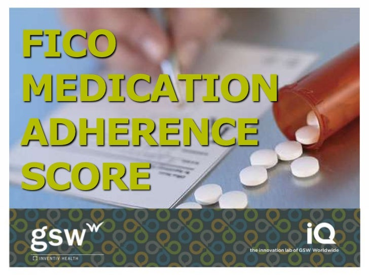 FICOMEDICATIONADHERENCESCORE