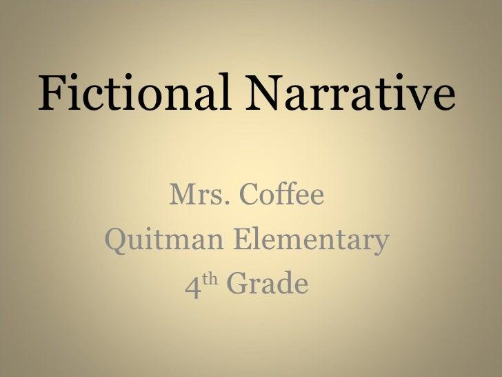 Teaching Narrative Writing 4th Grade