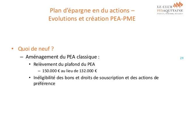 Loi de finances 2014 - Plan epargne logement plafond ...