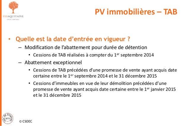 Loi De Finances 2015