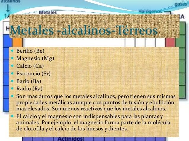 Grupo iia de la tabla peridica de los elementos metales alcalinos t metales urtaz Choice Image