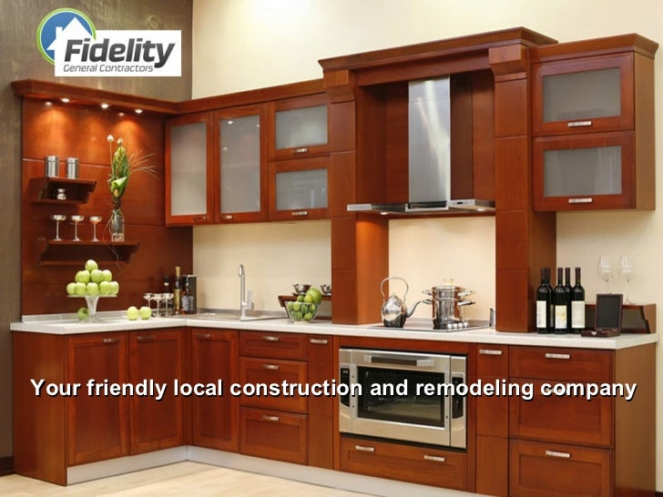 Your friendly local construction and remodeling company