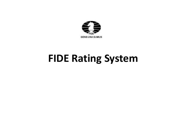 FIDE Rating System