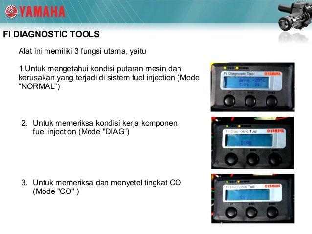 manual book fi diagnostic tool yamaha