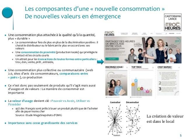 5Les composantes d'une « nouvelle consommation »De nouvelles valeurs en émergence Une consommation plus attachée à la qua...