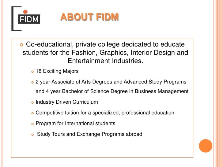 Fidm Abroad Power Point