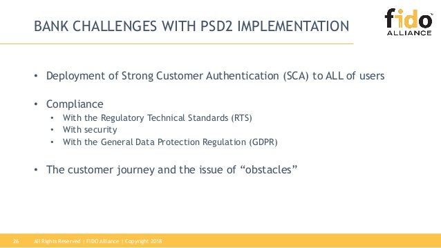FIDO & PSD2: Solving the Strong Customer Authentication