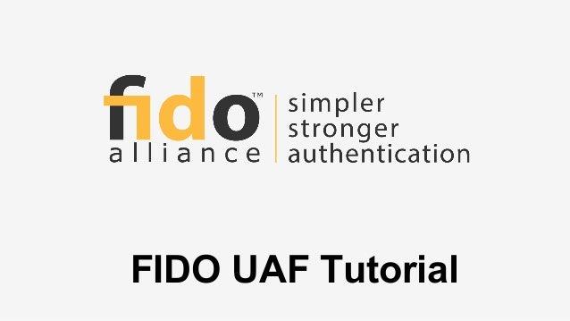 FIDO UAF Tutorial