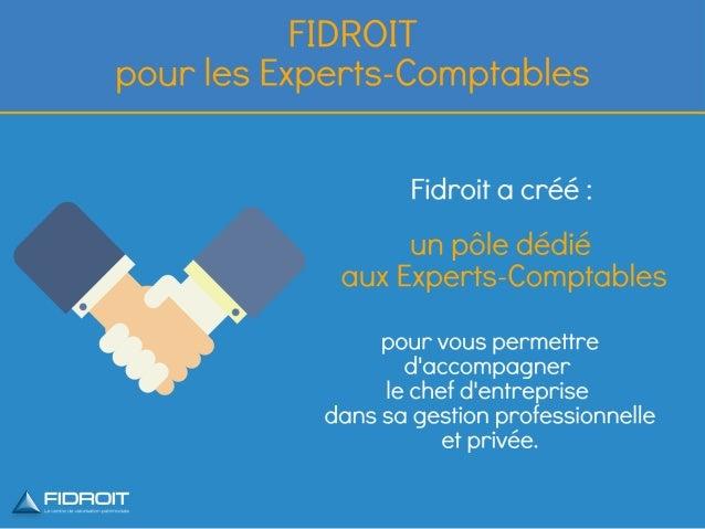 Fidroit : Pôle dédié aux Experts-Comptables