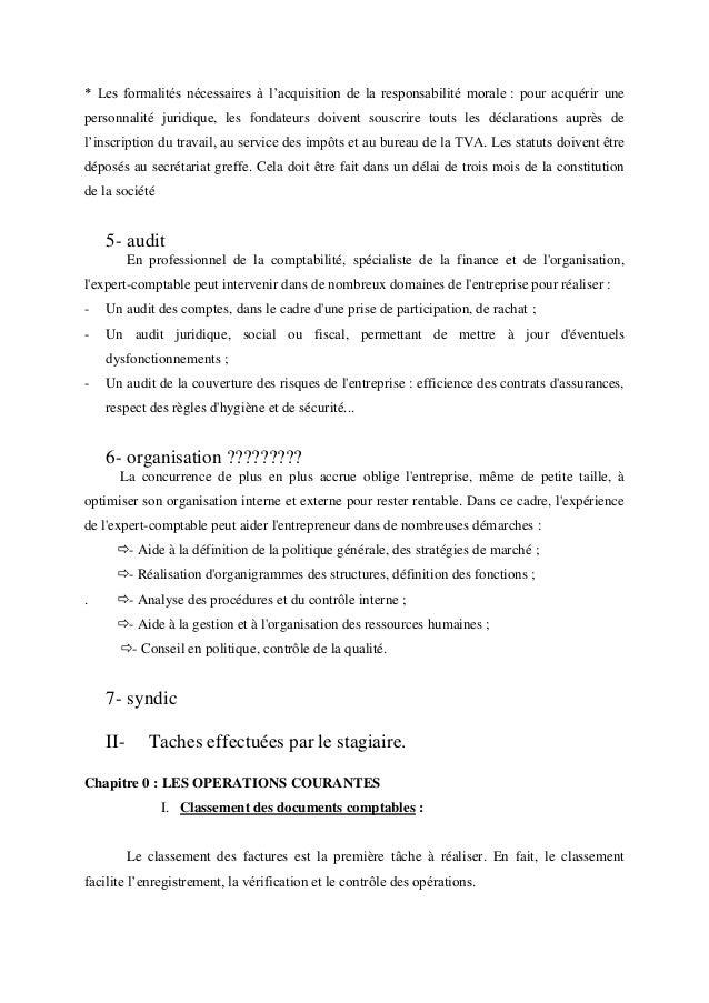 Cabinet comptable definition - Rapport de stage dans un cabinet comptable ...