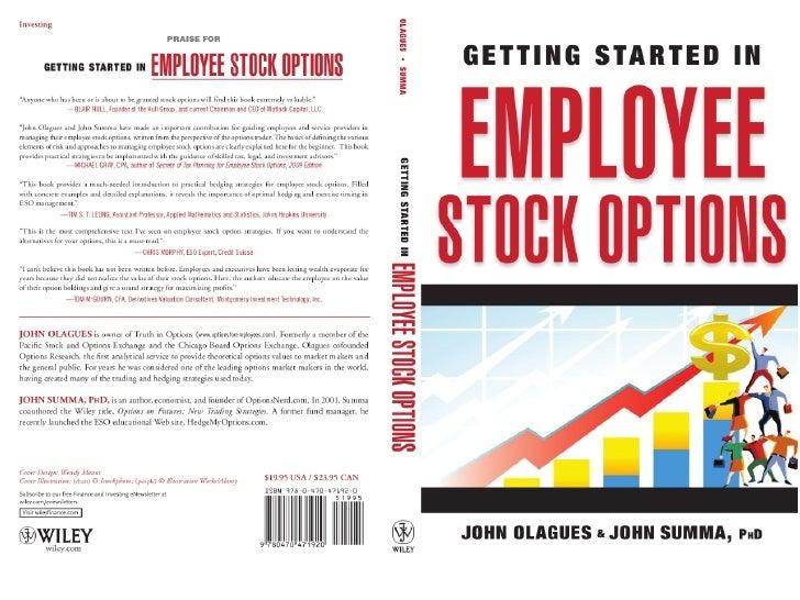 Employee stock options advice