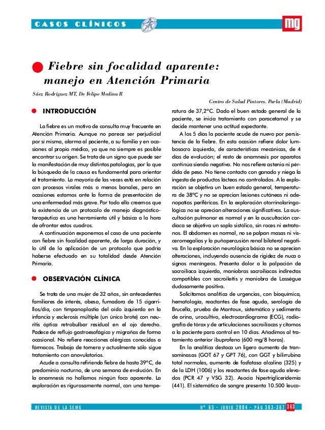 MEDICINA GENERAL Nº 65   8/7/04    20:58   Página 363            CASOS             CLÍNICOS                               ...