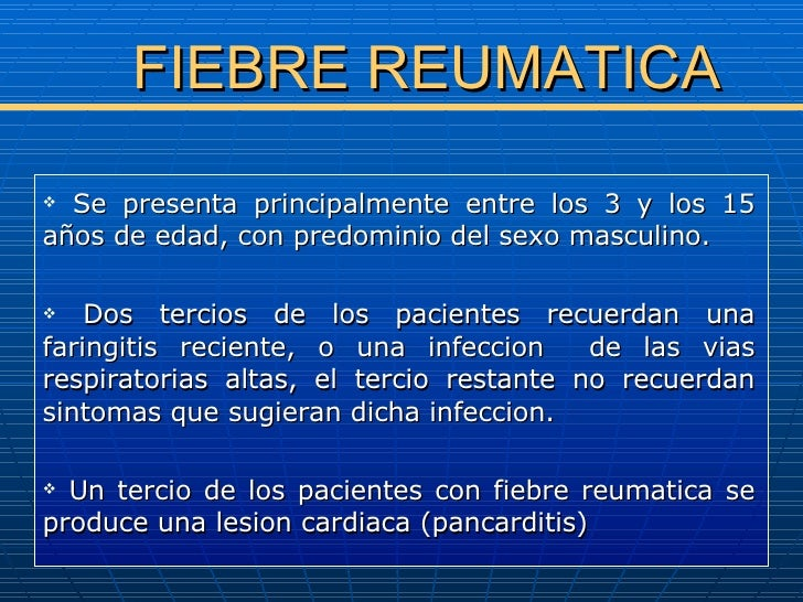 Fiebre Reumatica Slide 2