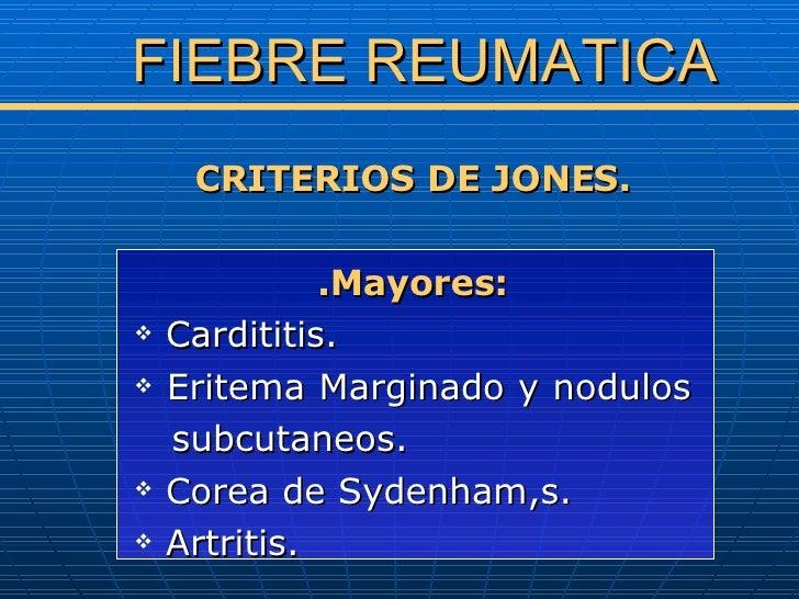 Fiebre Reumatica Slide 3