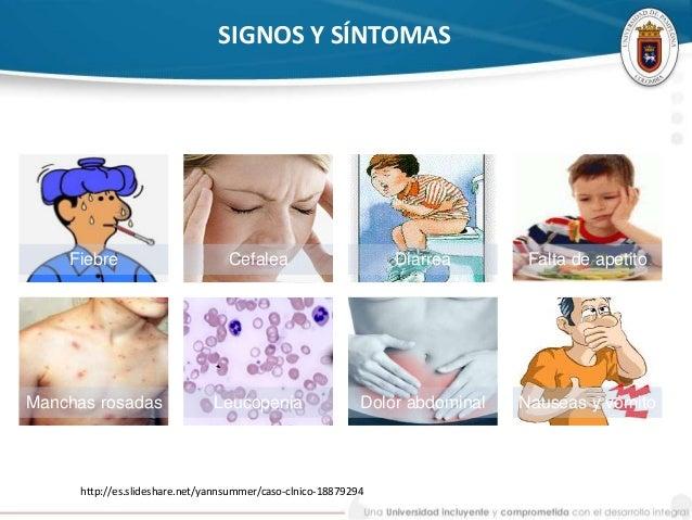 Diagnostico de fiebre tifoidea